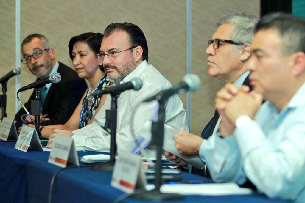 México dispuesto a colaborar con OEA para solucionar crisis en Venezuela