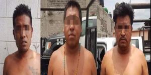 Detienen a tres supuestos secuestradores en Ecatepec
