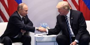 """Trump a Putin: """"Un honor estar contigo"""""""