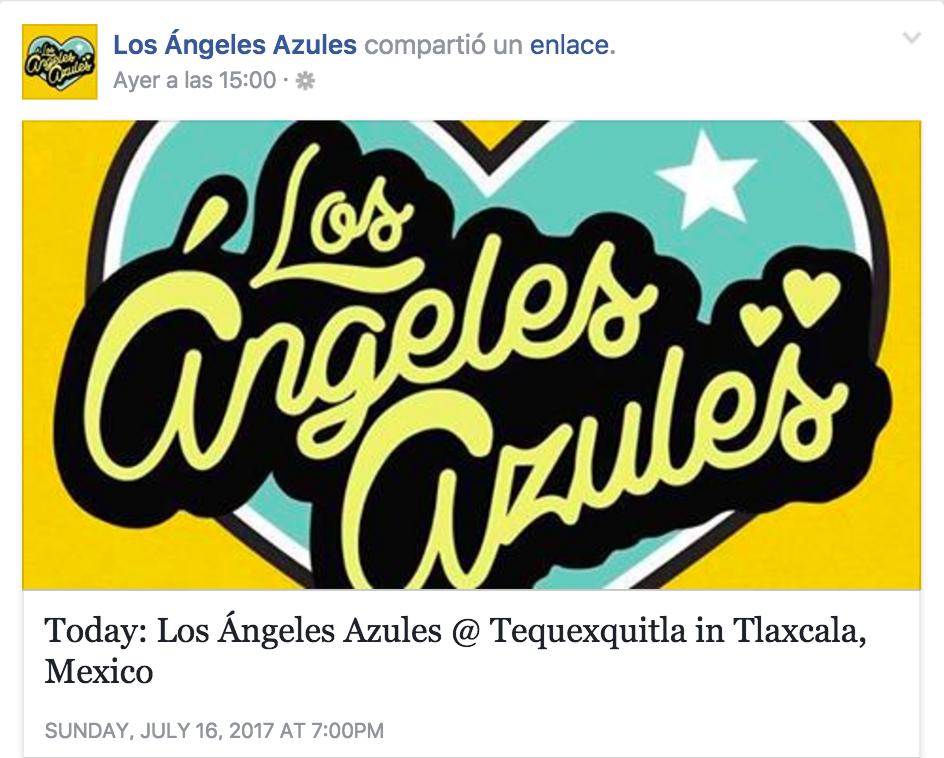 Músicos de Los Ángeles Azules acusan de secuestro a Alcalde de Tlaxcala