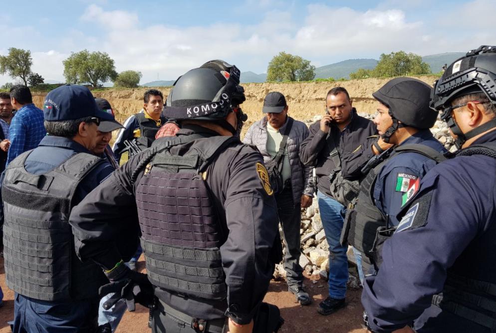 Balacera en Teotihuacán deja siete heridos