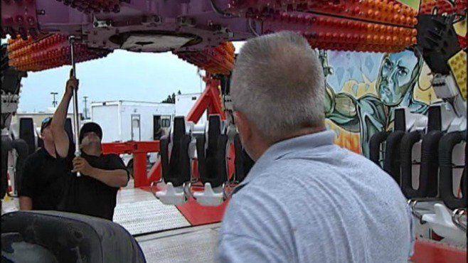 Falla en una atracción en la feria de Ohio causa un muerto