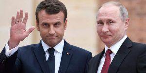Putin y Macron Getty Images