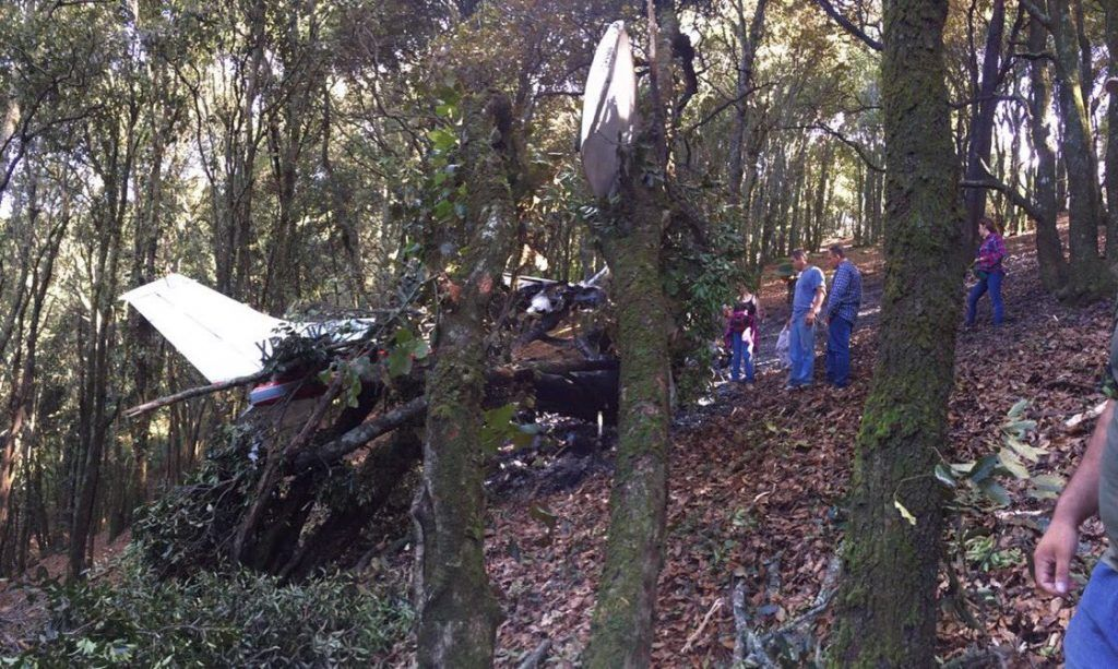 Desplome de avioneta en Tlajomulco deja dos muertos