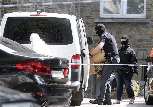 Cuatro detenidos durante una operación antiterrorista — Bruselas