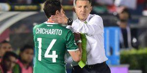 'Chicharito' y 'Chucky' no jugarán frente a Honduras