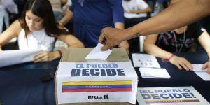 Más de 7.1 millones votan contra gobierno de Maduro