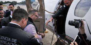 Extraditan a Javier Duarte a México