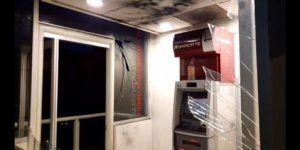Detona explosivo en cajero automático en Oaxaca