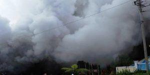 Desaparecen ocho tras caída de helicóptero en Indonesia