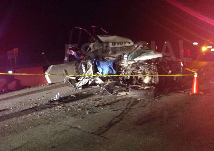 Muere en accidente delegado de la Policía Estatal de Hidalgo