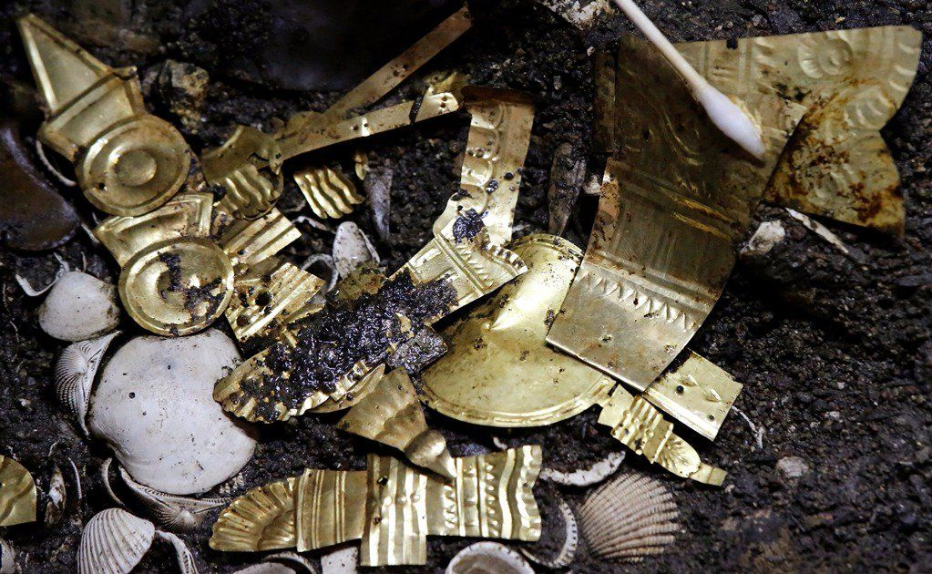 Ofrenda oro Templo Mayor