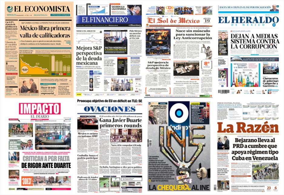 PGR cuenta con 19 pruebas contra Javier Duarte