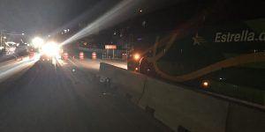Suspenden tránsito vehicular en zona del socavón en Paso Exprés