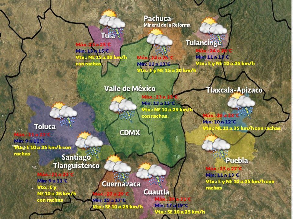 Prevén tormentas fuertes en Tabasco