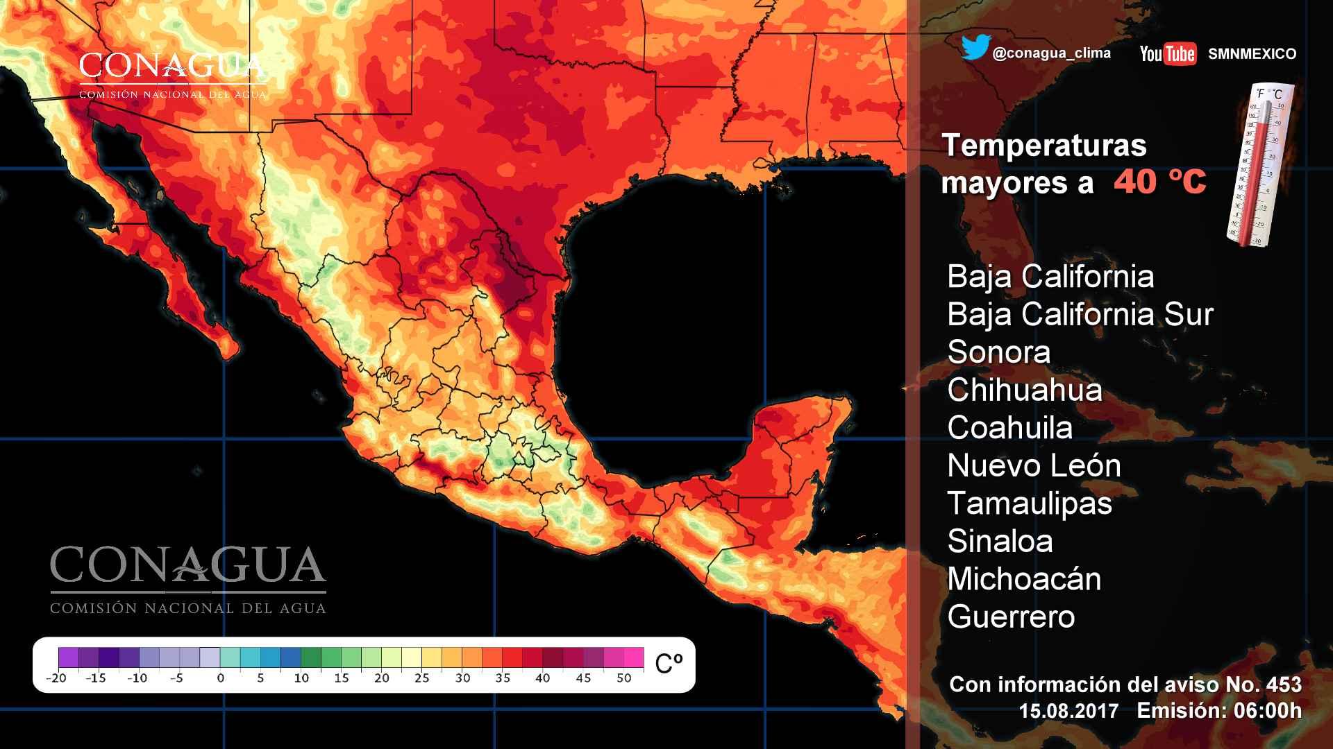 Pronostican calor y lluvias para el País