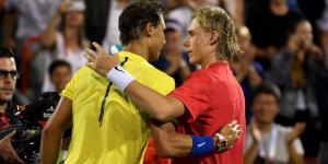 Canadiense de 18 años vence a Nadal en Montreal
