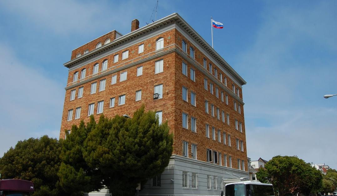 EEUU exige a Rusia cerrar consulado general en San Francisco