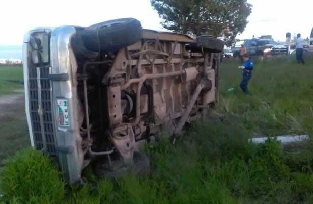 Accidente en Aguascalientes-SLP deja cinco personas fallecidas