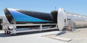 Cápsula en Hyperloop One supera los 300 km/h