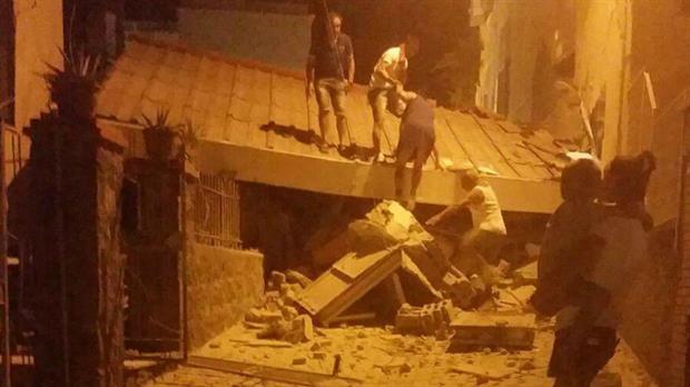 [VIDEO] ¡¡Increíble!! Terremoto de 3,6 grados deja desolador panorama en Italia