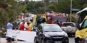 Choque entre vehículo y autobús en Cataluña deja cinco muertos
