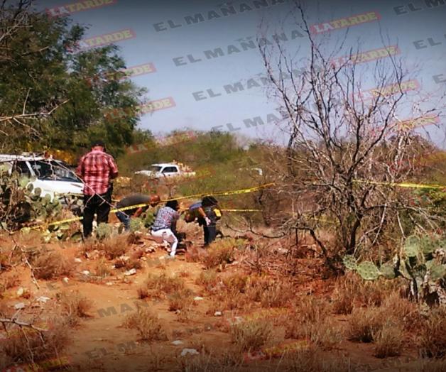 Localizan restos de tres calcinados en Reynosa