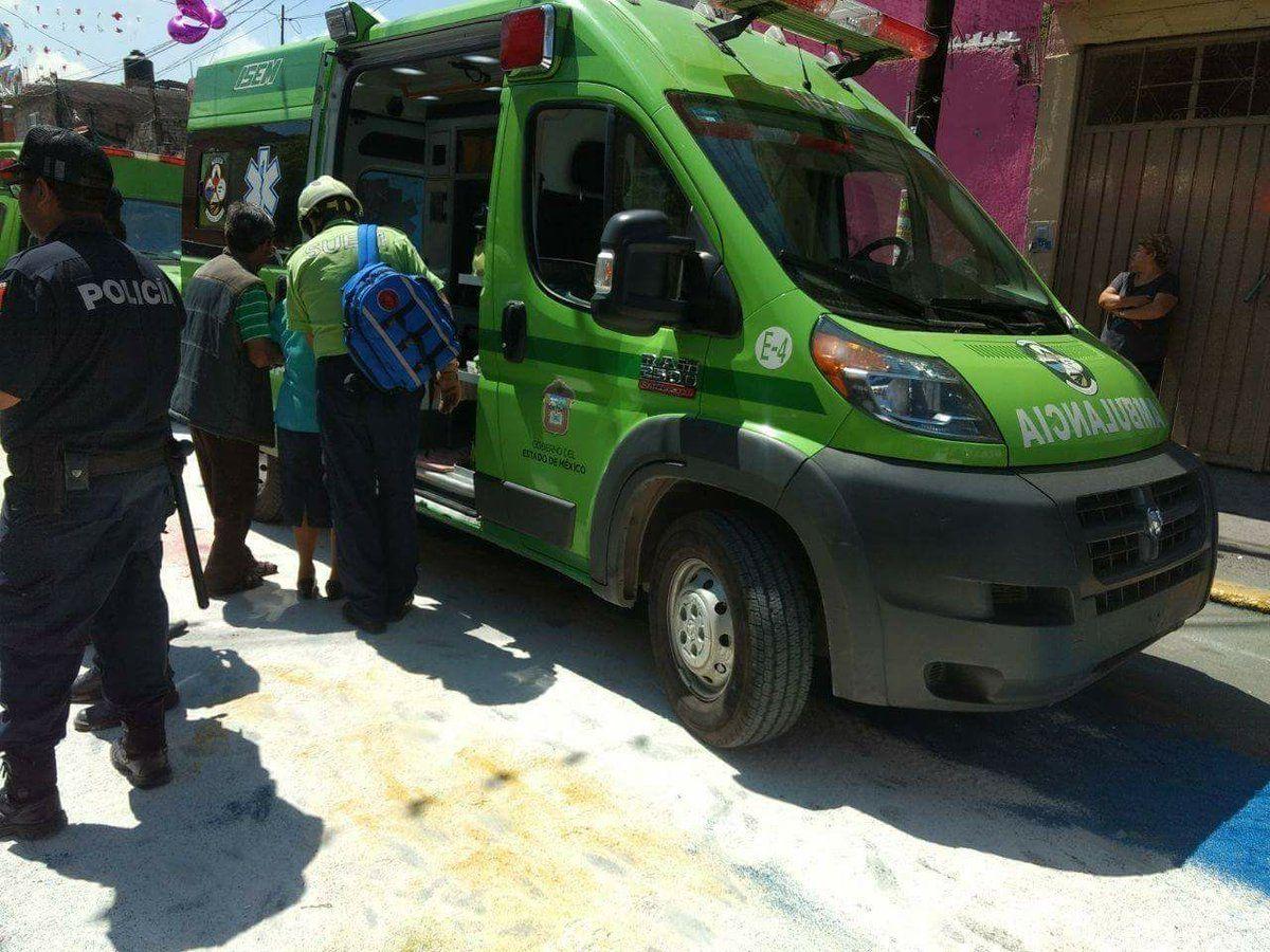 Explosión de cohetones en fiesta patronal de Ecatepec deja 12 lesionados