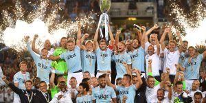 Lazio vence a Juventus por la Supercopa de Italia