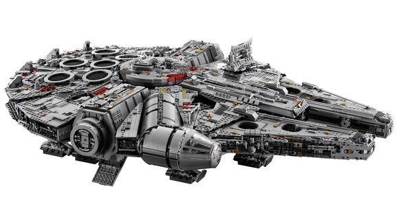 Lego presenta su set más grande: El Halcón Milenario