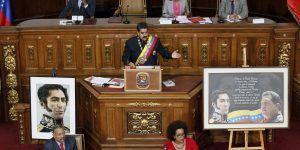 Maduro arremete contra oposición tras sanciones de EE.UU.