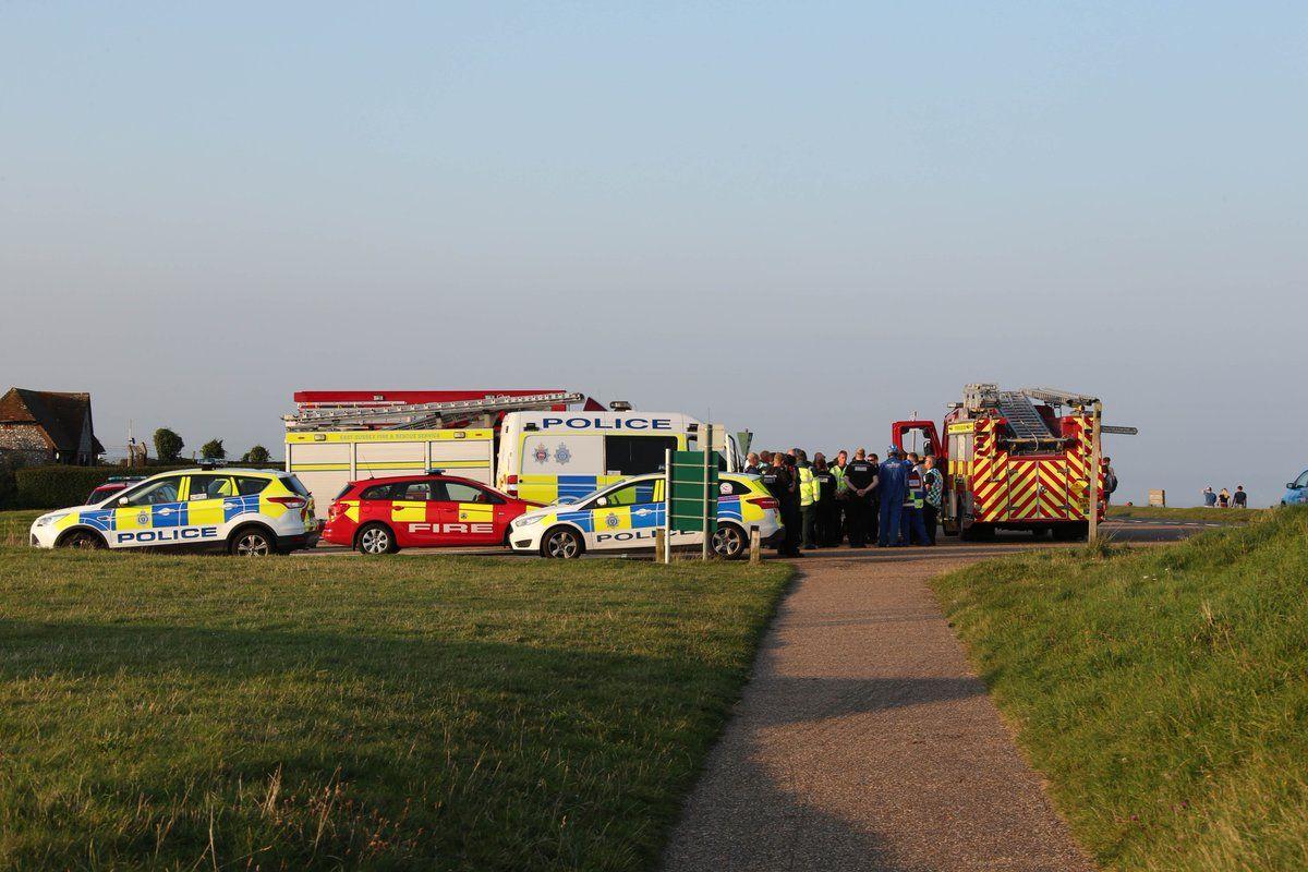 Una nube tóxica atacó una playa inglesa: más 100 personas atendidas