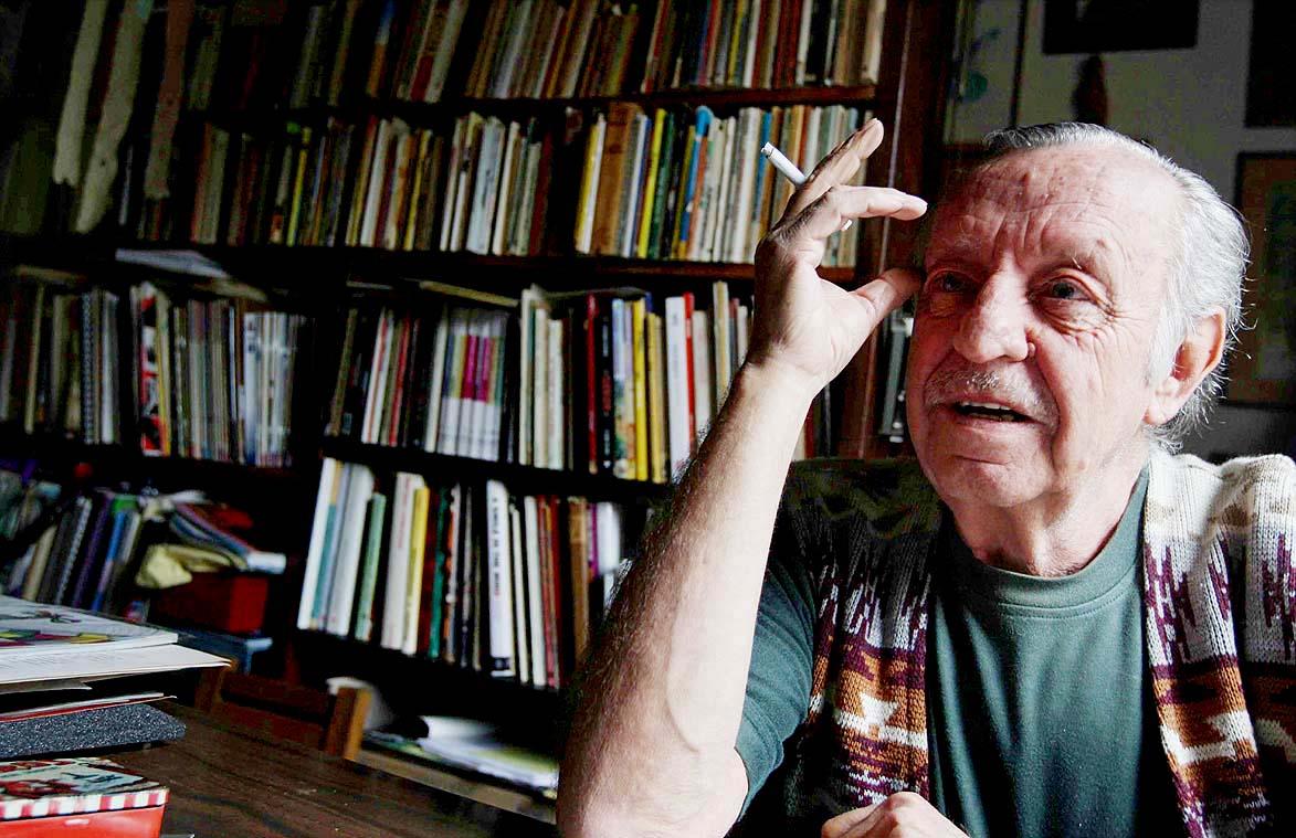 Muere en Morelos el caricaturista Eduardo del Río