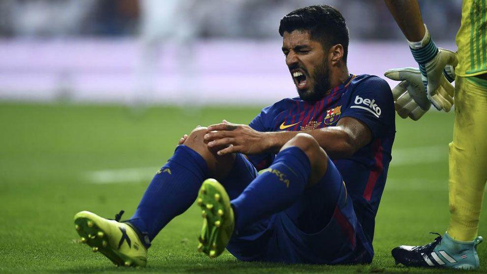 Luis Suárez no podrá jugar ante Argentina por las Eliminatorias — Bomba