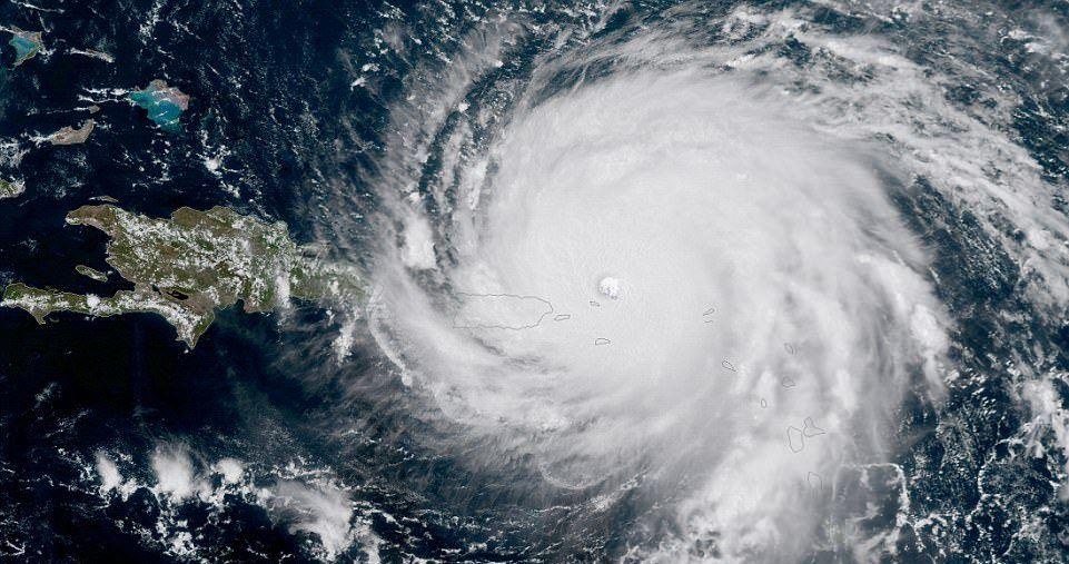 El huracán Irma provocó