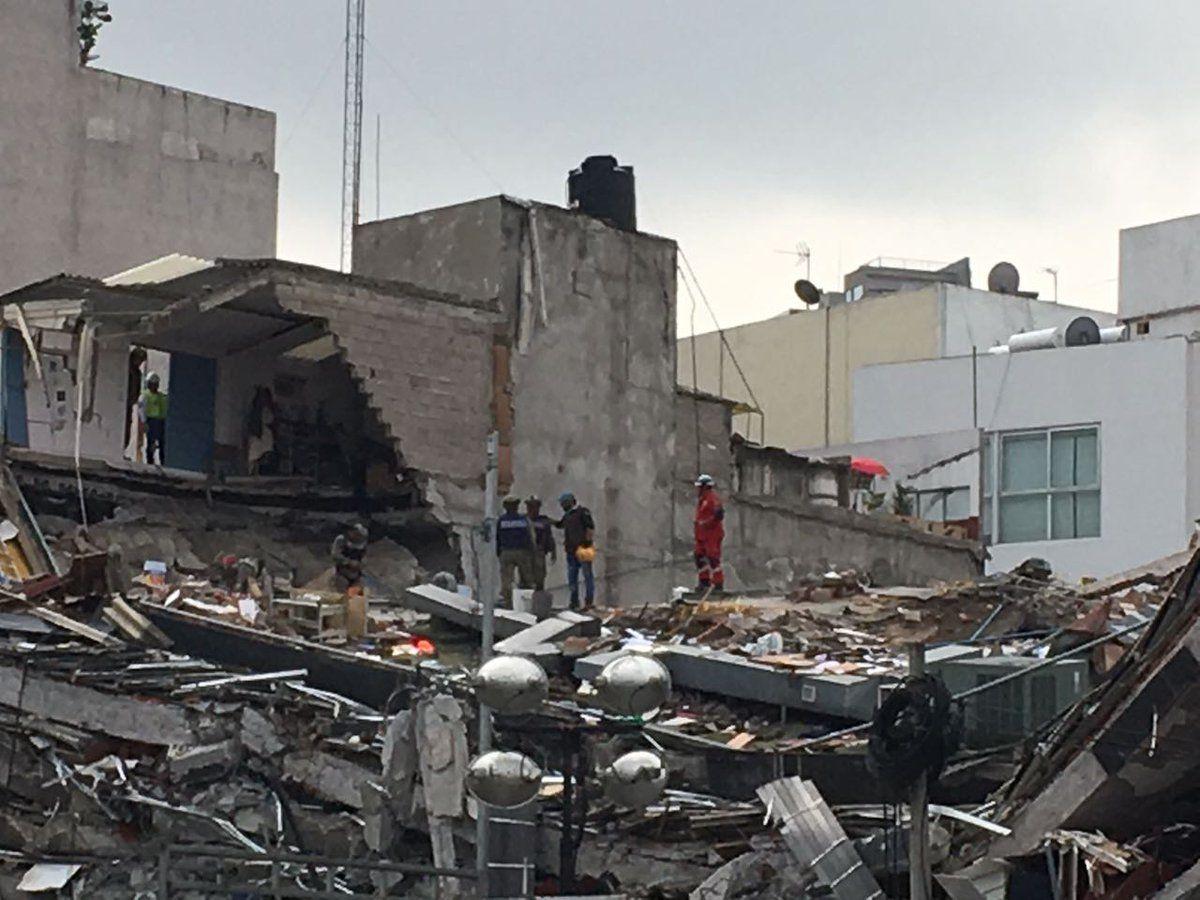 Garantiza Protección Civil que no se suspende rescate en Álvaro Obregón