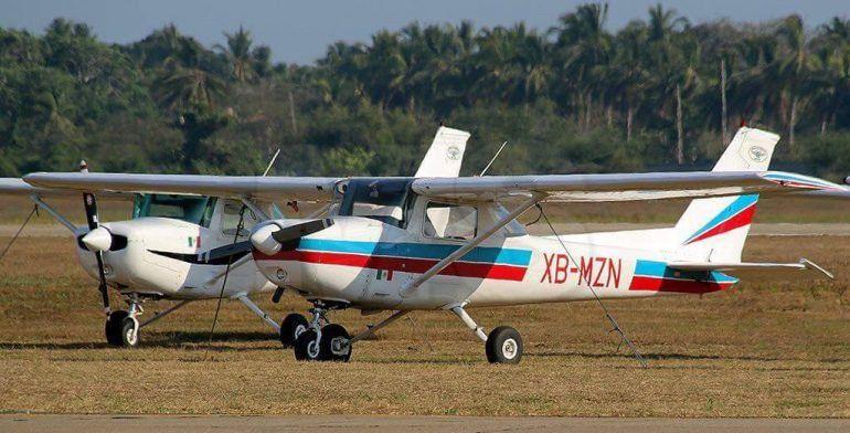 Se desploma avioneta en la Sierra de Atoyac