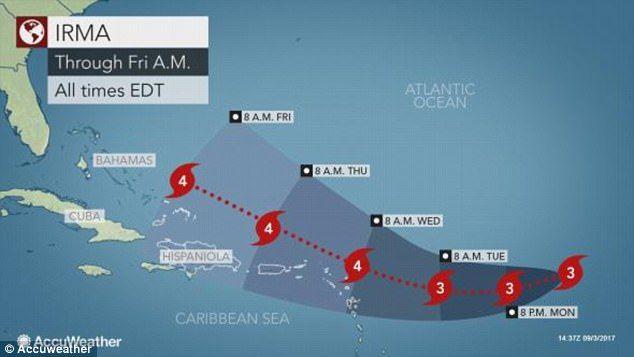 EN VIVO: Irma azota Islas Vírgenes de EUA