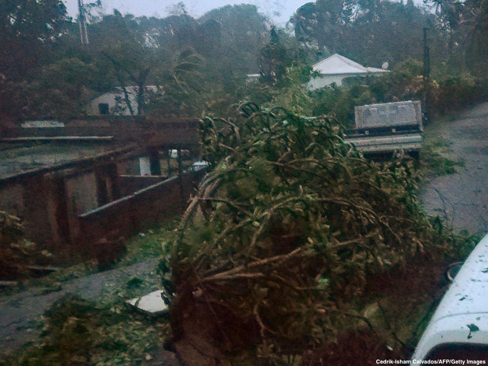 Las imágenes del devastador paso del huracán María por Puerto Rico