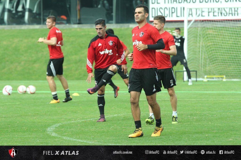 Rafa Márquez regresa a entrenar con el Atlas