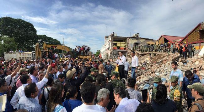 Registra Sismológico más de 600 réplicas del sismo del 7 de septiembre
