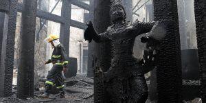 Incendio en hotel de Myanmar deja un muerto