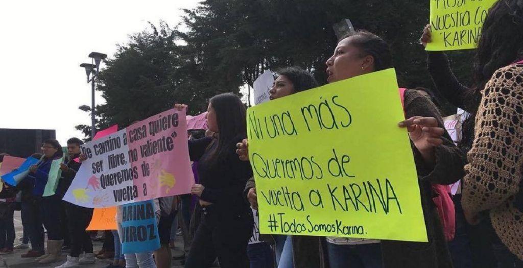 Identifican restos de Karina Quiroz; su exnovio la mató