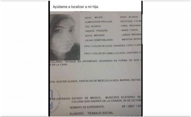 Hallan muerta a joven en clóset de casa de Lindavista