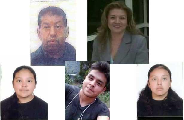 Descubren restos de familia desaparecida en Tultepec