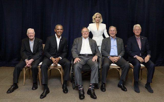 lady gaga ex presidentes