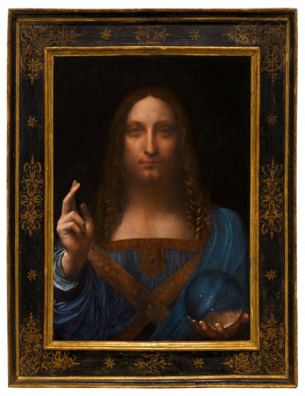 Subastarán única obra de Da Vinci que está en manos privadas