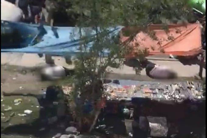 Deja 3 muertos balacera en tianguis de Ecatepec