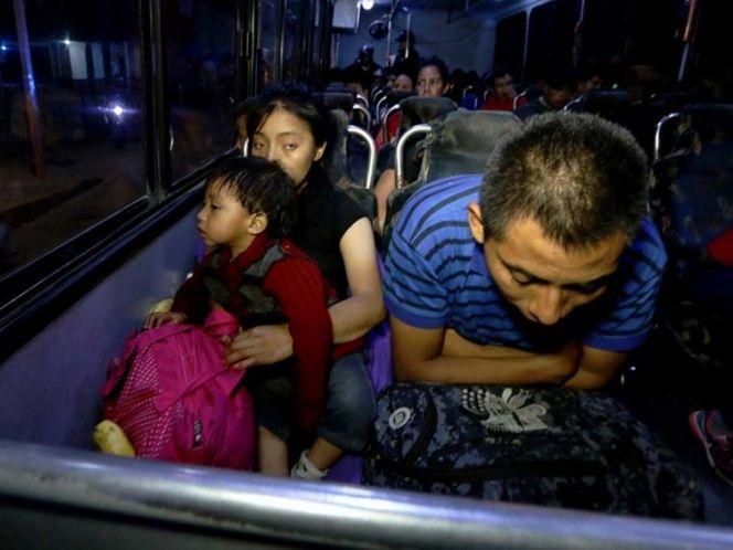 PGR rescata a 98 migrantes centroamericanos en Tabasco